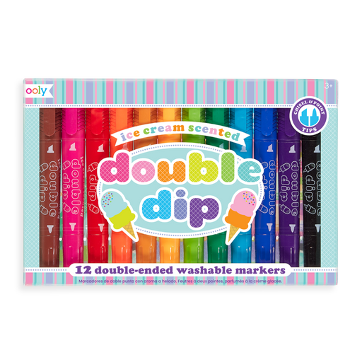 Double Dip Scented Markers - JKA Toys