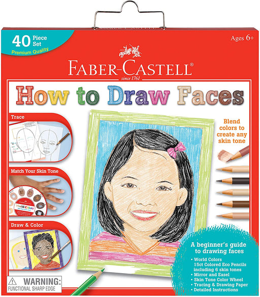 How To Draw Faces - JKA Toys