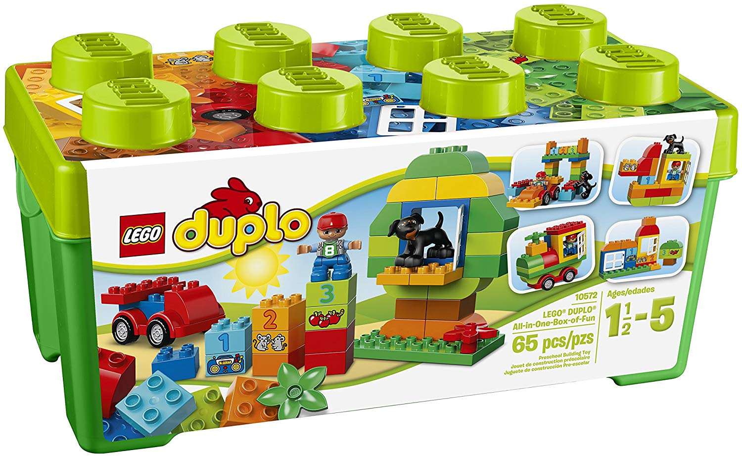 LEGO Duplo All In One Box of Fun - JKA Toys