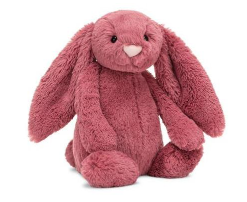 Medium Bashful Dusty Pink Bunny - JKA Toys