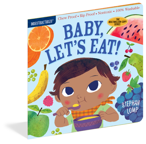 Indestructibles: Baby, Let's Eat! Book - JKA Toys