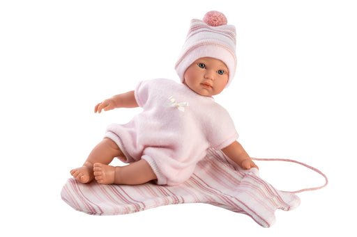 "Emma 11"" Soft Body Crying Baby Doll - JKA Toys"
