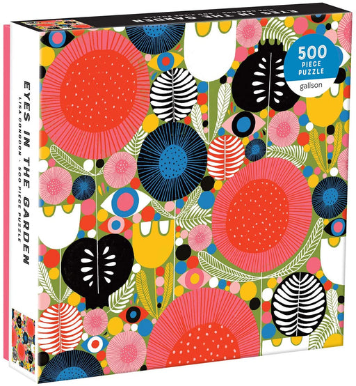 500 Piece Eyes in the Garden Puzzle - JKA Toys