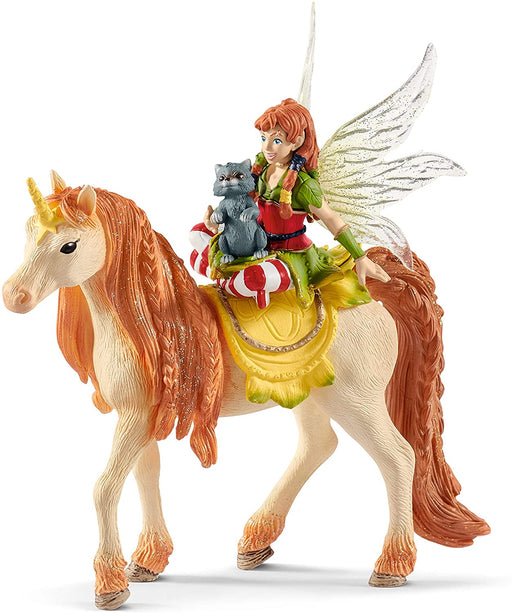 Fairy Marween with Glitter Unicorn Figure - JKA Toys