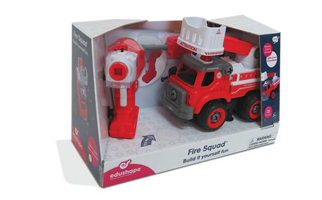 Build It Yourself: Fire Squad - JKA Toys
