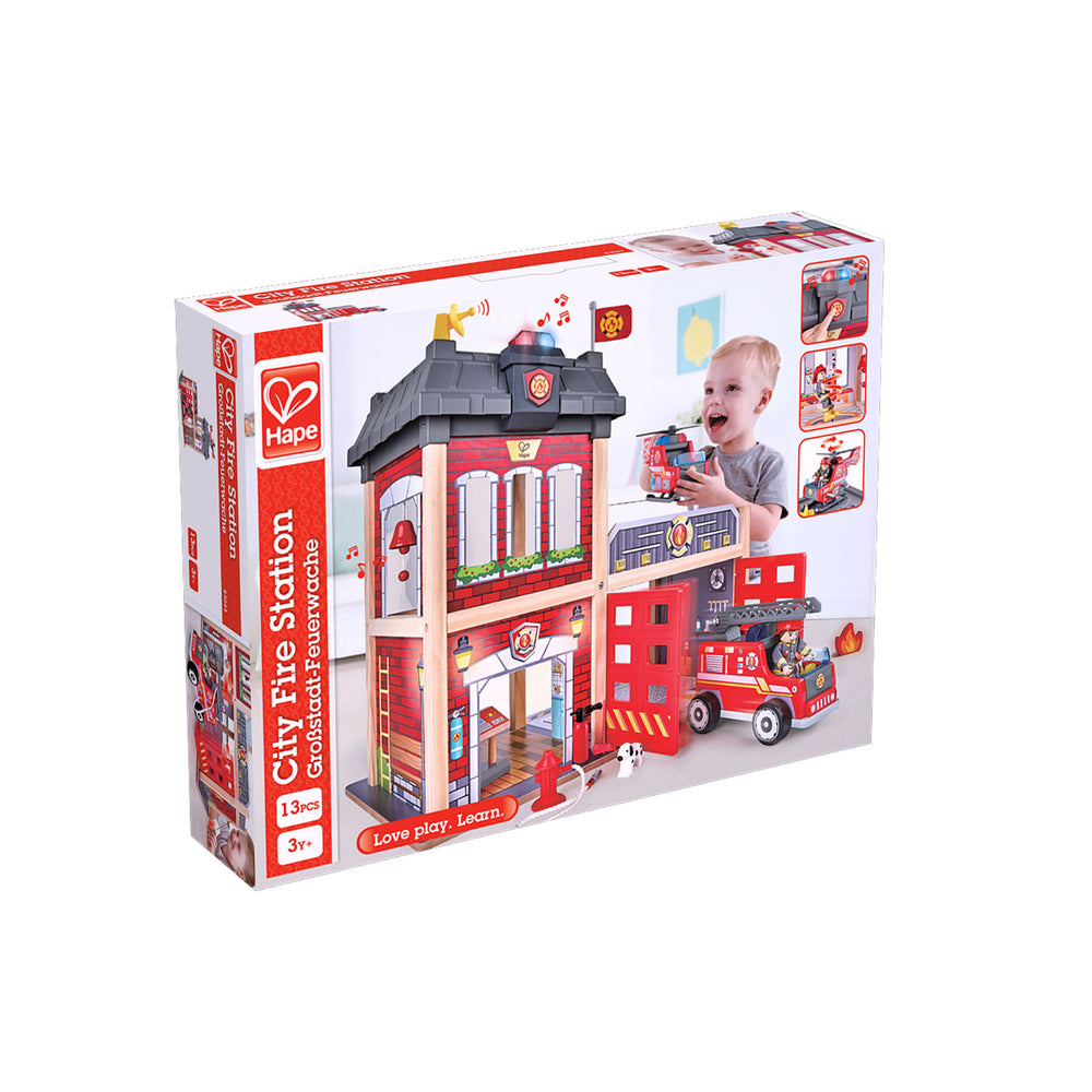 City Fire Station - JKA Toys