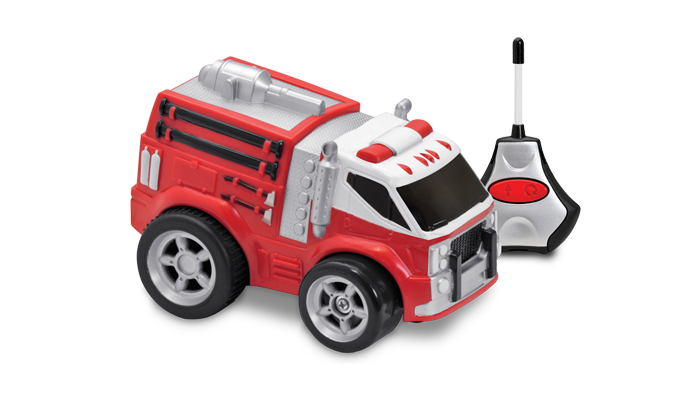 R/C Soft Body Fire Truck - JKA Toys