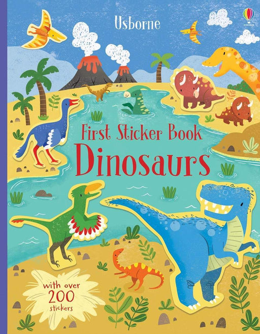 First Sticker Book Dinosaurs - JKA Toys