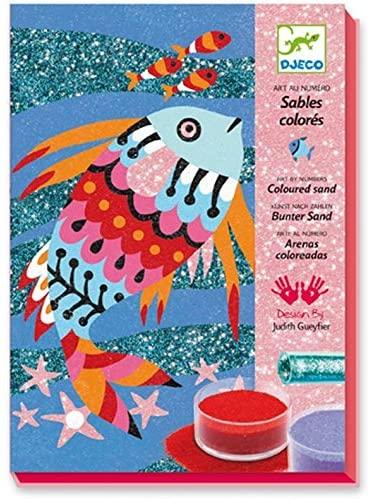 Fish Rainbow Glitterboard Sand Art Kit - JKA Toys