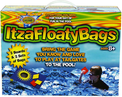 Itza Floaty Bags - Cornhole For The Pool - JKA Toys