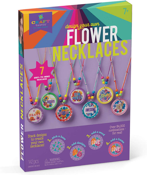 Design Your Own Flower Necklaces - JKA Toys