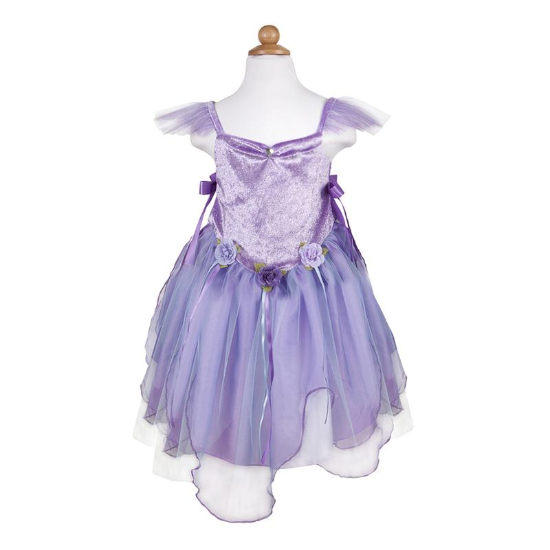 Lilac Forest Fairy Tunic, Size 5-6 - JKA Toys