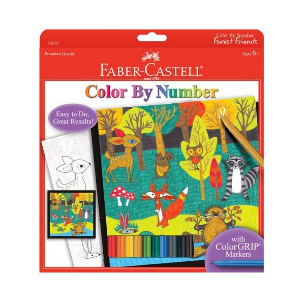 Color By Number Forest Friends - JKA Toys