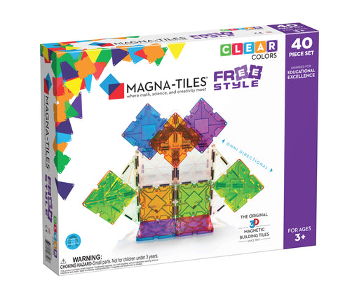 Magna-Tiles Freestyle 40 Piece Set - JKA Toys