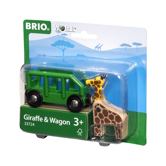 Giraffe & Wagon Train - JKA Toys