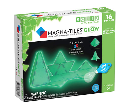 Magna-Tiles Glow 16 Piece Set - JKA Toys