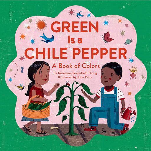 Green is a Chile Pepper: A Book of Colors Softcover Book - JKA Toys