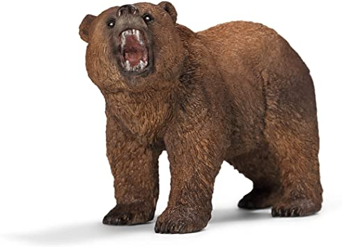 Grizzly Bear Figure - JKA Toys