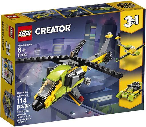 LEGO Creator 3-In-1 Helicopter Adventure - JKA Toys