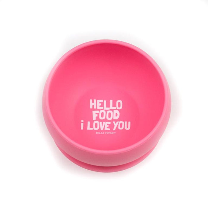 Hello Food I Love You Wonder Bowl - JKA Toys