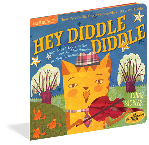 Indestructibles: Hey Diddle Diddle! Book - JKA Toys