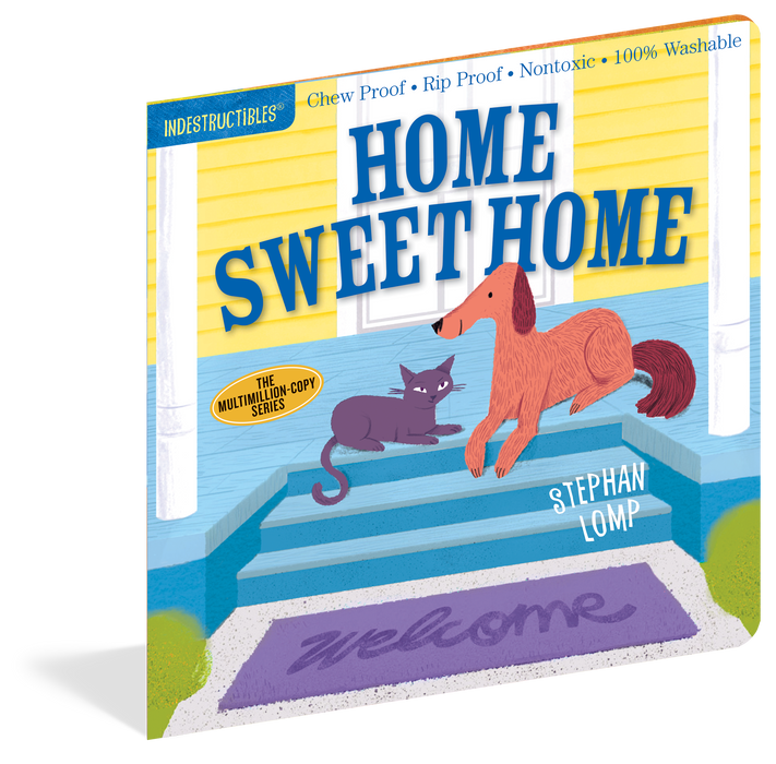 Indestructibles: Home Sweet Home Book - JKA Toys