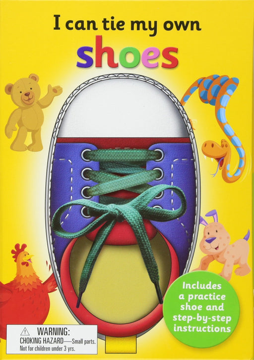 I Can Tie My Own Shoes Book - JKA Toys