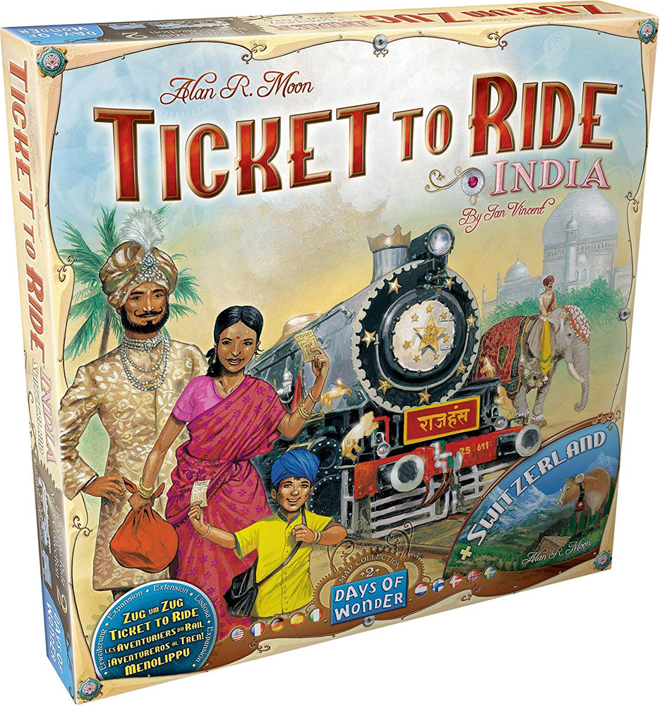 Ticket To Ride: India - JKA Toys