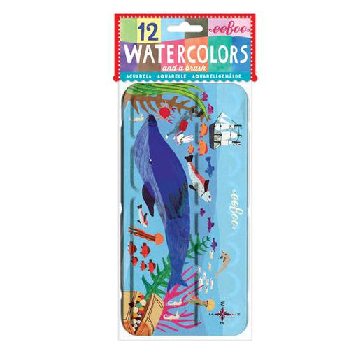 In The Sea Watercolors and Brush Set - JKA Toys