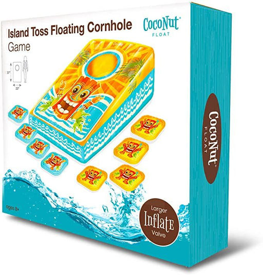 Island Toss Floating Cornhole Pool Game - JKA Toys