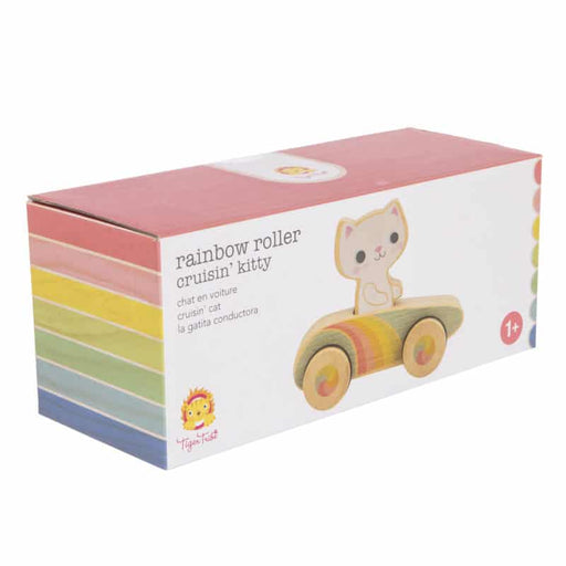 Rainbow Roller Cruisin' Kitty - JKA Toys