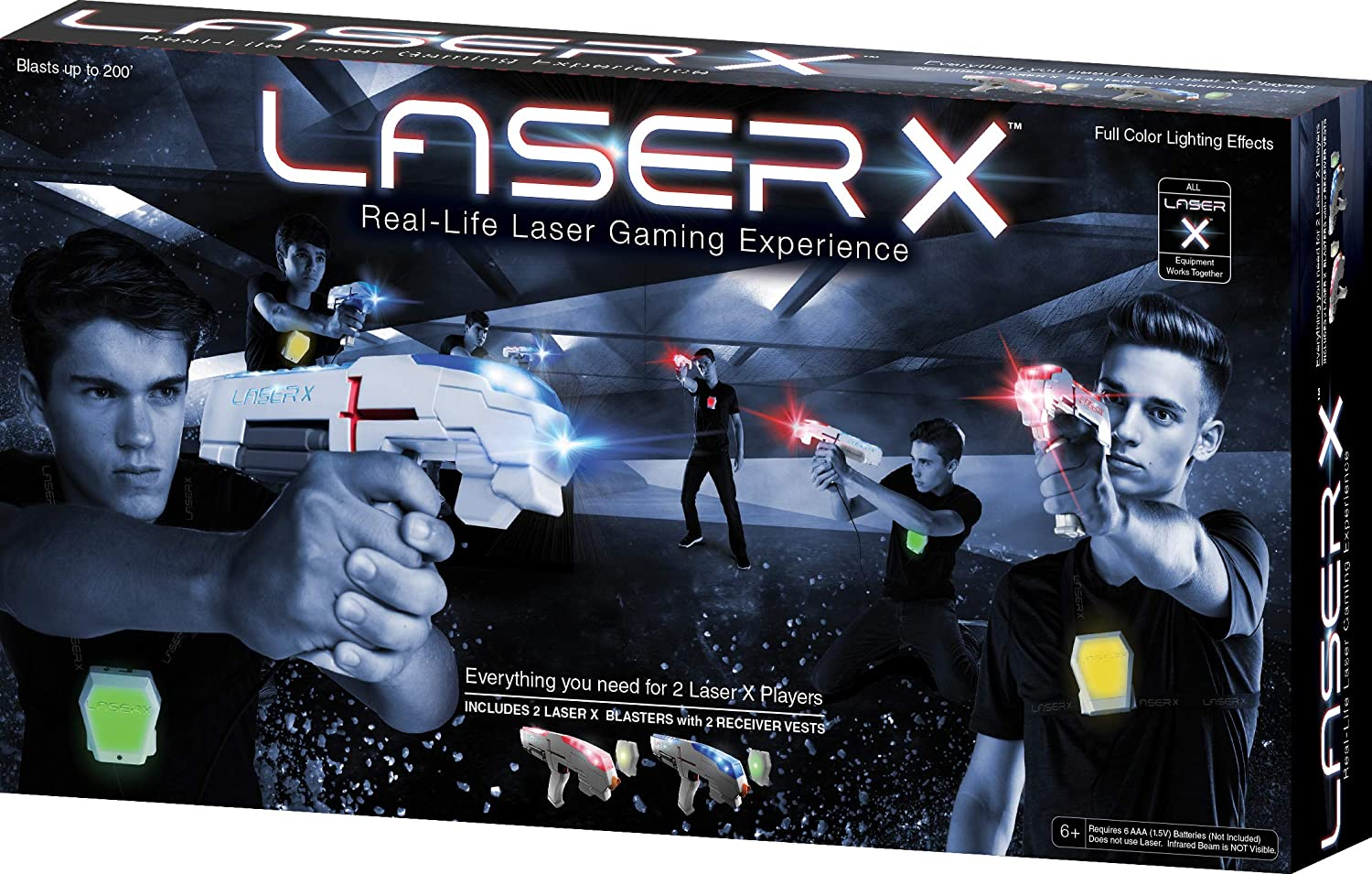 Laser X Two Player Laser Tag Set - JKA Toys