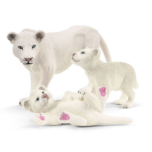 Lion Mother with Cubs Figures - JKA Toys