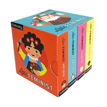 Little Feminist Board Book Set - JKA Toys
