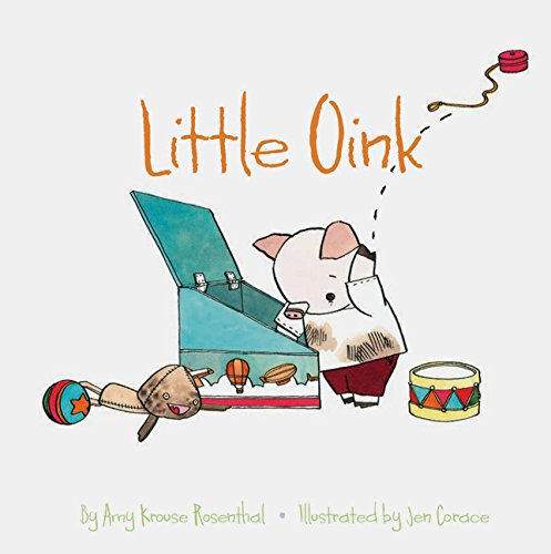 Little Oink Board Book - JKA Toys