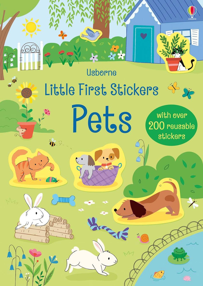 Little First Stickers Pets - JKA Toys