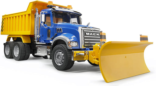 Bruder Mack Granite Dump Truck with Snowplow - JKA Toys