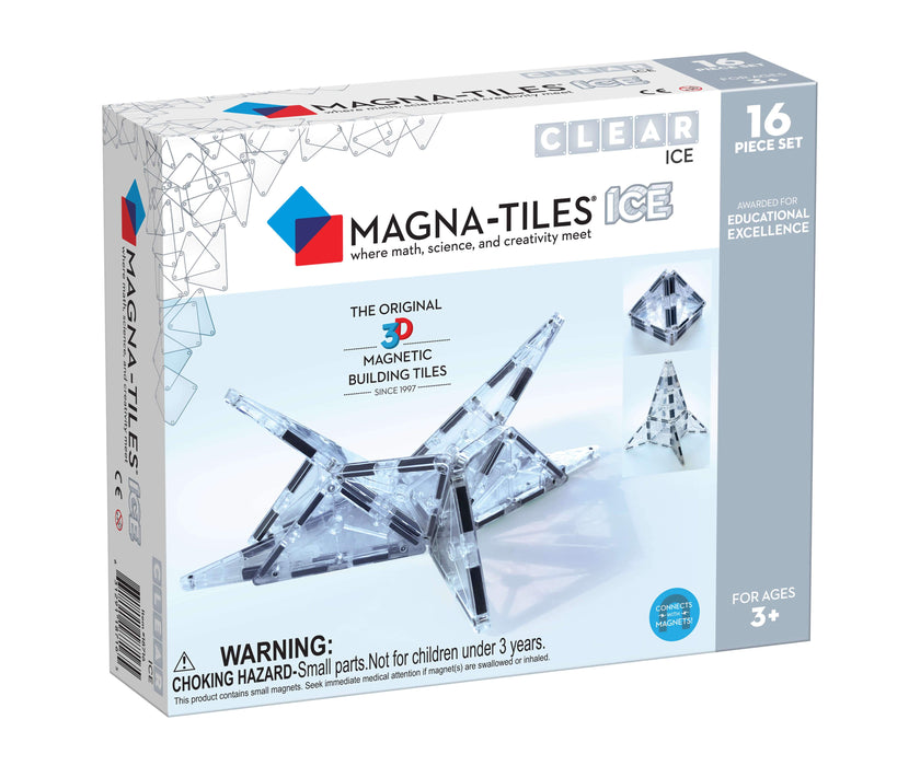 Magna-Tiles Ice 16 Piece Set - JKA Toys