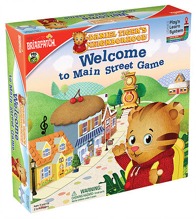 Daniel Tiger Welcome to Main Street - JKA Toys