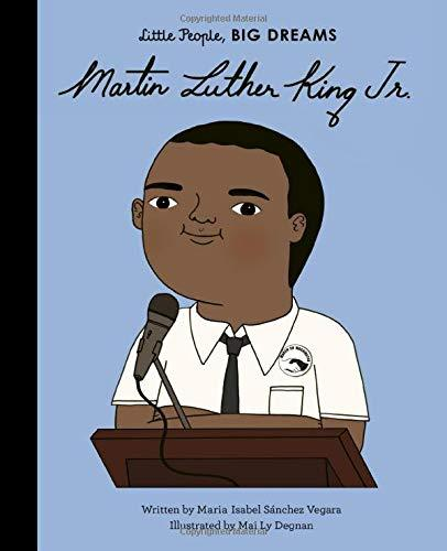 Little People, Big Dreams: Martin Luther King Jr. Hardcover Book - JKA Toys