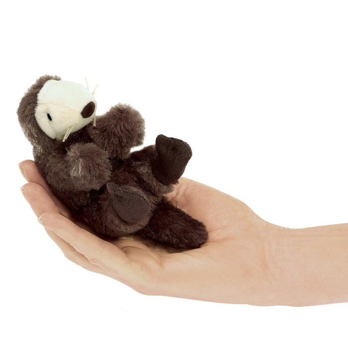 Mini Sea Otter Finger Puppet - JKA Toys