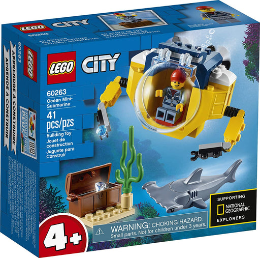 LEGO City: Ocean Mini-Submarine - JKA Toys