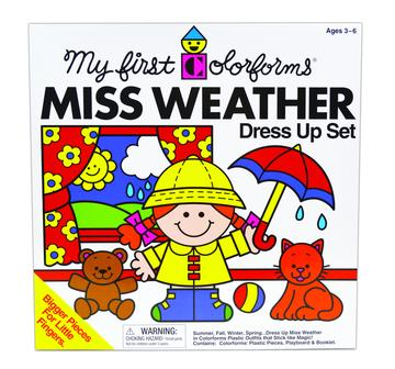 Miss Weather Colorforms - JKA Toys
