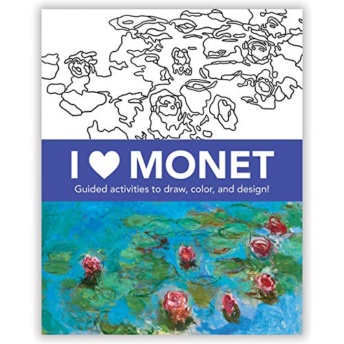 I Heart Monet Activity Book - JKA Toys