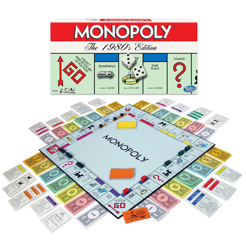 Monopoly The 1980's Edition - JKA Toys