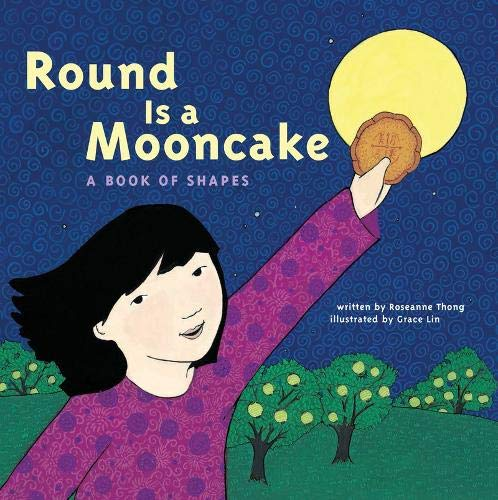 Round Is a Mooncake Paperback Book - JKA Toys