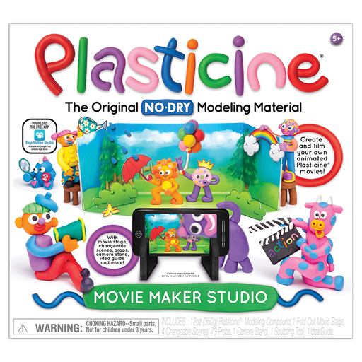 Plasticine Movie Maker Studio - JKA Toys
