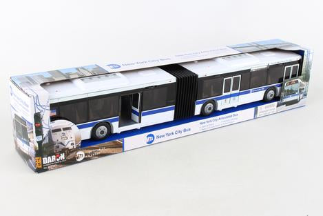 MTA Large Articulated Bus - JKA Toys