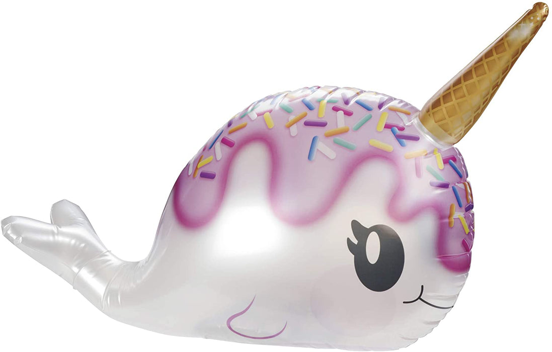Bobbin' Buddies Narwhal-I-Cone Inflatable Pool Toy - JKA Toys