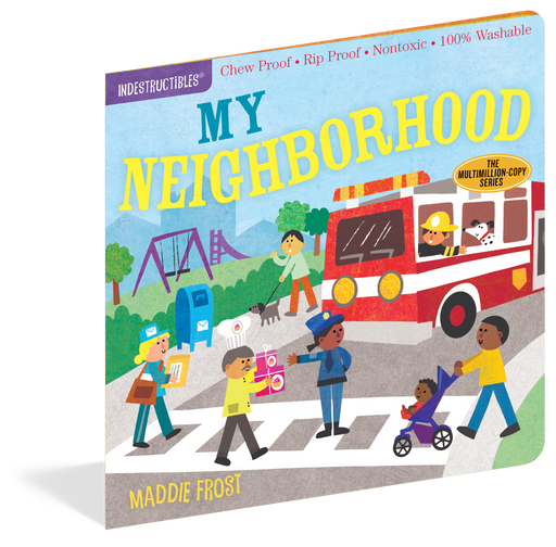 Indestructibles: My Neighborhood Book - JKA Toys